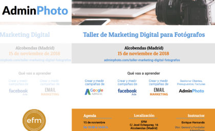 MARKETING PARA FOTÓGRAFOS / Adminphoto